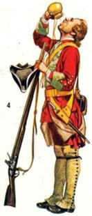 Redcoat 1740