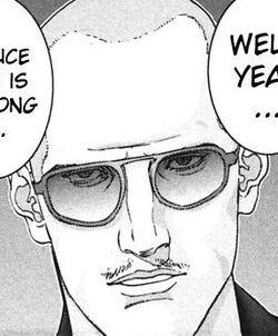 Sunglasses Wearing Vampire Boss