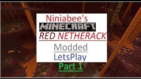 Ninjabee's RED NETHERACK modded survival Episode 1 Paridise