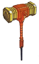 Goldion hammer