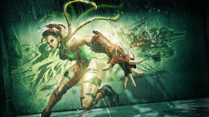 Street fighter x tekken cammy girl legs tattoo hand 22211 1920x1080