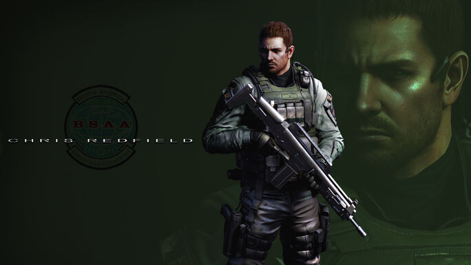 Re6 chris redfield wallpaper pack by fadedblackangel-d4zoqrj
