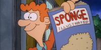 Sponge Illustrated Salesman