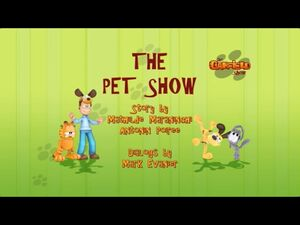 The pet show title