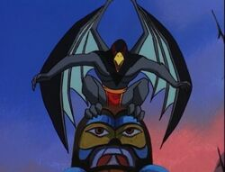 Raven Gargoyle
