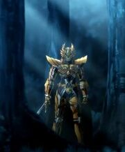Alfonso's New Garo Armor