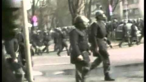 March 9, 1991 Riots ft. Yugoslav M-1 gas mask