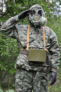 Russian PMK-3 Gas Mask