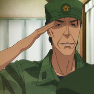 Major Nyutabaru cropped screen shot Anime Episode 13