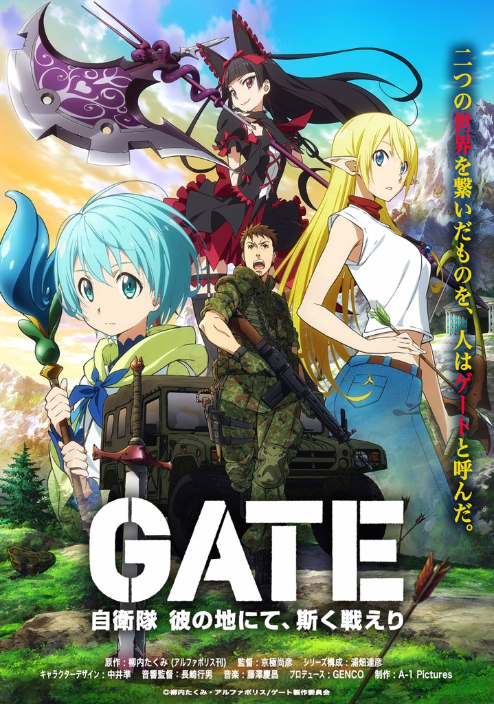 Image result for gate anime