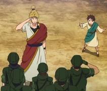 Yōji Itami the bigest dork in the universe Anime episode 13