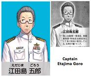 Captain Etajima Goro