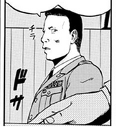 Colonel Kazufumi Ryuzaki Head of Ministry of Defense's Joint Staff Special Operations Room Manga