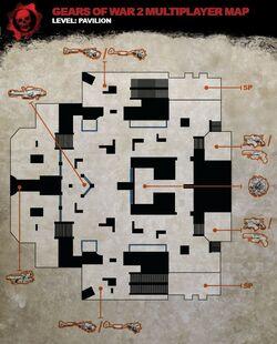 Pavilion map
