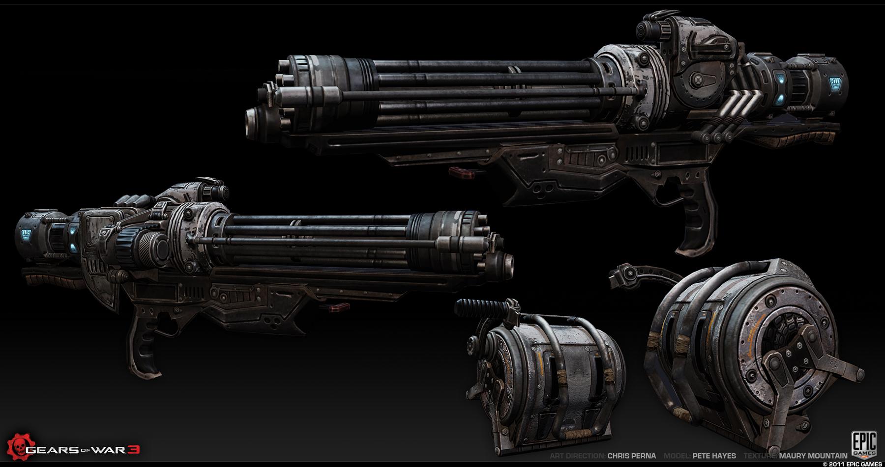 Vulcan Gatling Gun Gears Of War Fandom Powered By Wikia