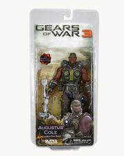 Gears Of War 3 Augustus Cole action figure