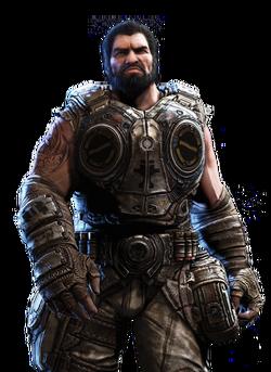 Gears of War 3 Personajes COG Dom V2