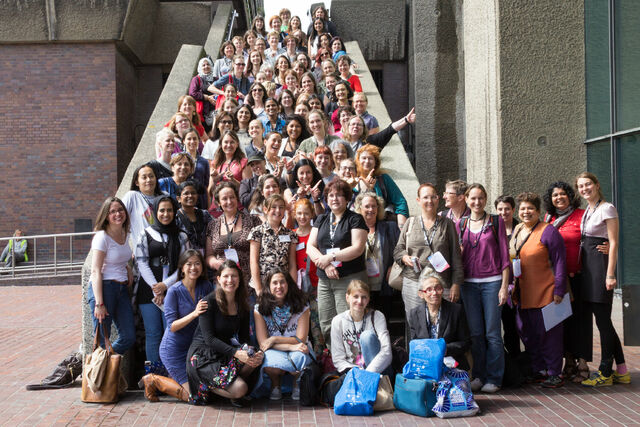 File:WikiWomen's Lunch, Wikimania 2014.jpg