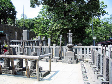 1280px-Sengakuji 47 ronin graves