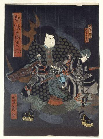 File:Brooklyn Museum - Kabuki Scene (Diptych) - Hokushu.jpg