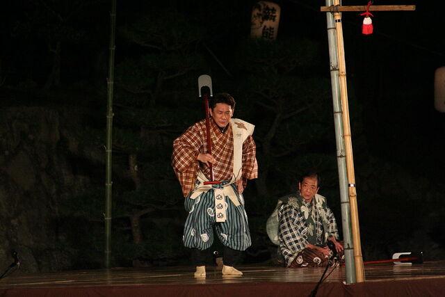 File:1280px-Himeji-jo Takigi Nou 39 37.jpg