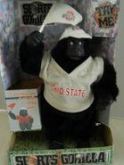 Gemmy OHIO STATE collage gorilla
