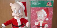 Christmas Porky Pig