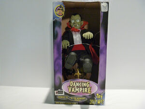 Gemmy 1998 animated dancing vampire