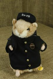 Dancing Hamster Police Ofiicer Sings ''Bad Boys'' Cops Theme Song And Dances
