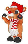 Rudolph The Red-Nosed Reindeer 50th Anniversary Musical Dancing Plush Figure