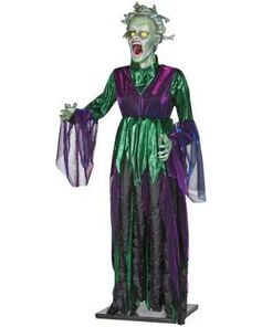 Holiday-ornaments-and-decor-halloween-5-ft-life-size-animated-medusa-55392
