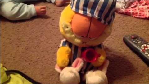 Garfield Animated Plush
