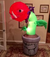 Gemmy Prototype Halloween Scary Plant Inflatable Airblown