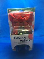 VINTAGE Gemmy Holiday Talking Mistletoe Animated Holiday Decor Motion Activated