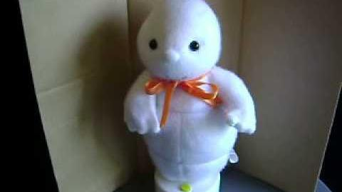 GEMMY~ANIMATED~HALLOWEEN~GHOST~SPOOKY HAUNTED MOANING~RARE~1996~BOXED~