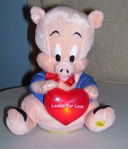 Gemmy animated LOOKIN FOR LOVE porky pig