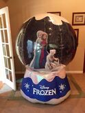 Gemmy inflatable Disney Frozen Snowglobe