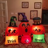Gemmy Prototype Halloween Trick or Treat Inflatable Airblown