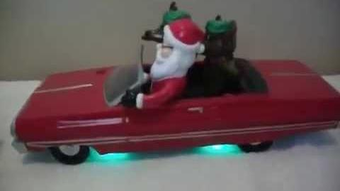 Gemmy animated Christmas low rider-1