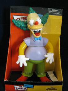 Vintage simpsons Singing talking Krusty clown