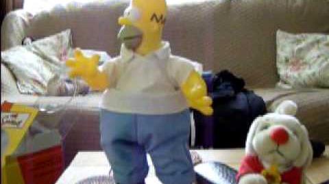 Gemmy dancing Homer Simpson
