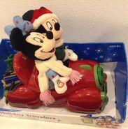 Disney Christmas Mickey and Minnie Holiday Travelers animated