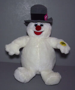 GEMMY PLUSH FROSTY SINGING ''FROSTY THE SNOWMAN'' MINT ANIMATED MUSICAL 4