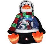 Snow Globe Plush Penguin