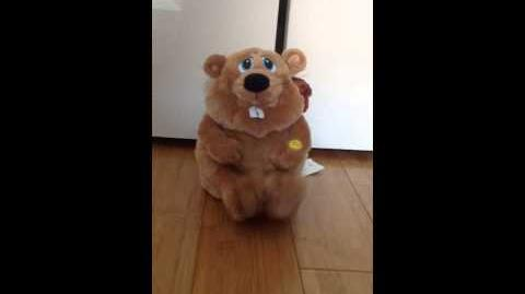 Gemmy animated Eager Beaver