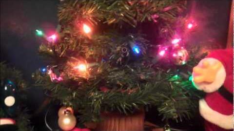 ***DOUGLAS FIR*** (Singing Christmas Tree) --- LIGHTS ON!