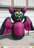 Gemmy inflatable vampire bat
