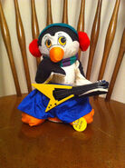 Gemmy christmas rock and roll penguin