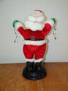 Gemmy dancing santa with lights