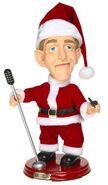 Gemmy pop culture series-Xmas Bing Crosby